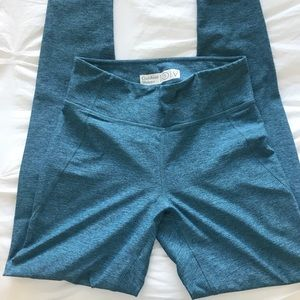 Outdoor Voices Blue Leggings Full Length small
